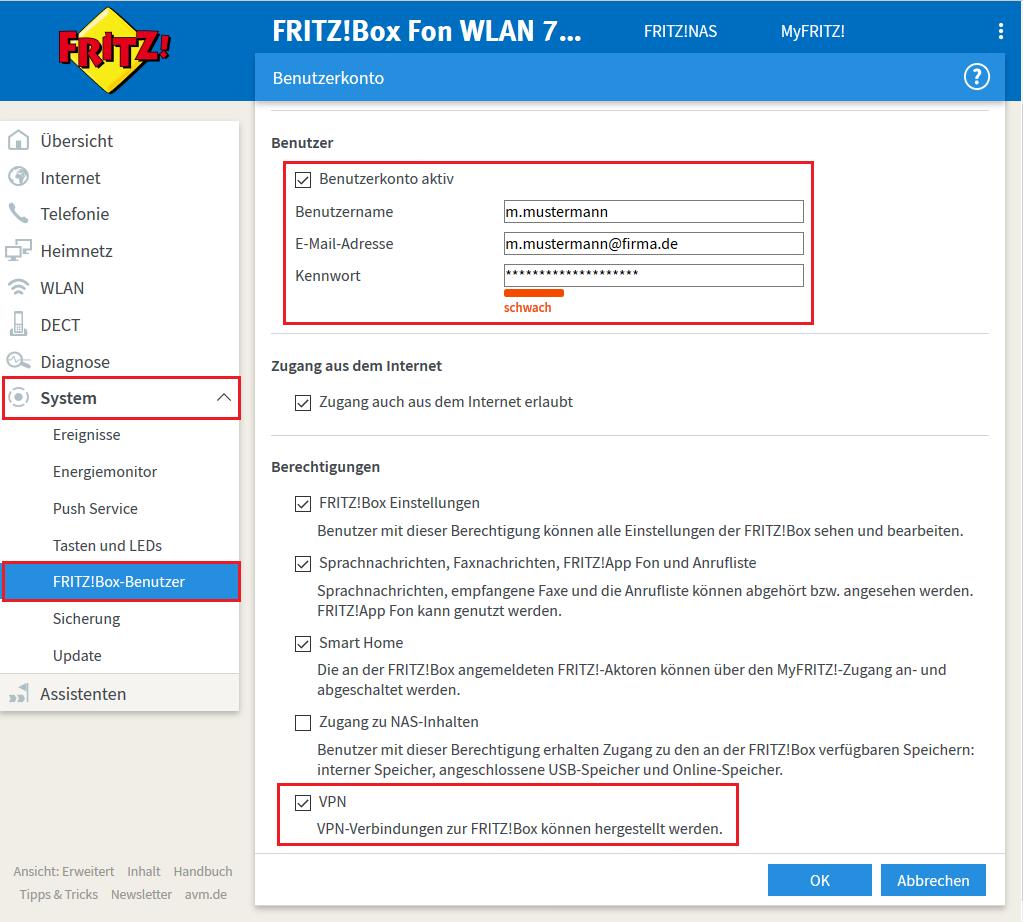 <b>VPN</b> zwischen <b>Fritz</b>!<b>Box</b> und <b>Windows 10</b> – Jochen Schwenk&#39;s Blog